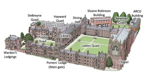 Keble layout
